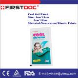 Corrección de enfriamiento los 5X12cm del hielo de la fiebre del bebé de la alta calidad del OEM