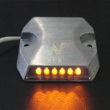 Atado con alambre LED túnel de carretera del perno prisionero del ojo de gato de aluminio del camino del reflector