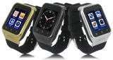 Teléfono elegante androide del reloj con el teléfono móvil del reloj de GPS/WiFi/3G