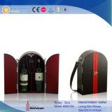 Rectángulo de regalo de encargo del vino de la sola botella de la alta calidad (6271R1)
