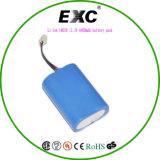Li-ion 2600mAh 11.1V 18650 batería 9.6V 1100mAh Exc