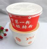 Устранимый бумажный шар с пластичной крышкой