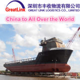 O serviço de frete o mais barato do oceano de China a no mundo inteiro