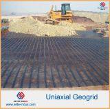PP Geogrid uniaxial para para el refuerzo de Slops del lado del terraplén