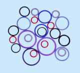 Viton 주문 다채로운 미터 고무 O-Rings 또는 키보드 반지