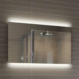 Espelho iluminado diodo emissor de luz cheio moderno do banheiro do hotel do comprimento
