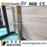Brames de marbre blanches de Serpeggiante de carrière neuve de la Chine avec du marbre en bois blanc d'intense luminosité
