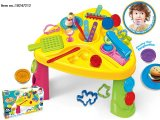 子供のためのライトおよび音楽おもちゃが付いている電子式金銭登録器