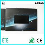 4.3inch LCDスクリーンが付いているビデオ結婚式の招待状