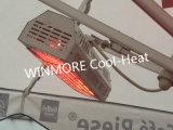金の上塗を施してあるランプの家庭電化製品が付いている赤外線テラスのヒーター