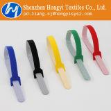 Laços de fio Multicolor de Velcro reusáveis