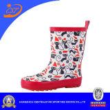 Ботинки дождя малышей резиновый
