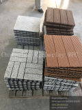 Wood Grain WPC Solid Timber Tile for Garden