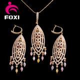 La joyería africana del chapado en oro del último del diseño estilo de la vendimia fijó para el partido
