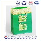 高品質のカスタムクリスマスのギフトの紙袋