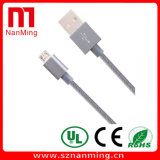 USB ad alta velocità 2.0 del micro cavo del USB intrecciato nylon di 6FT un maschio alla micro sincronizzazione di B e cavo di carico per il Android