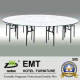Restaurant Big Dining Table avec Foldable Strong Frame (EMT-FT609)