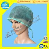 Pp. nichtgewebter Wegwerfdoktor Cap/chirurgische Schutzkappe mit Gleichheit