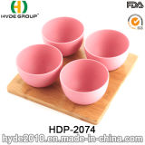 Organische BPA geben Bambusfaser-Imbiss-Filterglocke frei (HDP-2074)