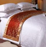 Reeks de van uitstekende kwaliteit van het Beddegoed van het Hotel van het Katoenen Satijn van de Jacquard (DPFMIC06)