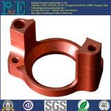 El rojo modificado para requisitos particulares anodiza la base del bastidor de aluminio