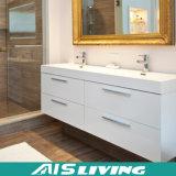 La pared natural de la chapa colgó las cabinas de cuarto de baño para la casa (AIS-B022)
