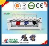 Máquina de alta velocidade do bordado do tampão das cabeças de Wonyo 6, para o bordado liso do t-shirt (WY906C/WY1206C)