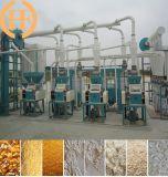 옥수수 가루 축융기, 옥수수 맷돌로 가는 플랜트