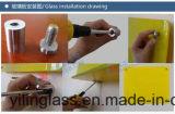 Glace de téléconférence gâchée par qualité avec le rouleau - couleur peinte