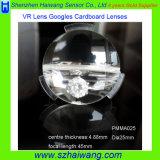 Lente de los vidrios de Vr 3D de la cartulina de la longitud focal 45m m Google del diámetro 25m m de Hotsale