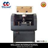 Ranurador de escritorio de talla de madera de acrílico del CNC de la máquina del metal 3D mini (VCT- 6040C)