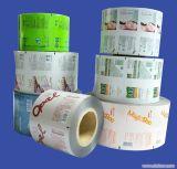 Película plástica al por mayor Rolls, rodillo del producto lácteo del diseño simple de OPP