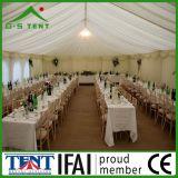 De witte Tent van het Huwelijk van de Markttent van de Luifel van de Structuur van de Stof Grote