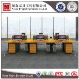 Bureau populaire de partition à extrémité élevé de bureau de poste de travail de structure en métal (NS-PT047)