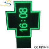 Signe d'affichage de croix de 85*85 P12.5 Cruz De Farmacia LED Pharmacy
