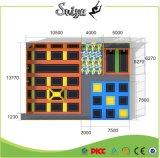 Stationnement d'intérieur de tremplin de constructeur de la Chine avec la piqûre de mousse