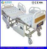 Heißes verkaufendes elektrische Fünf-Funktion justierbares Krankenhaus-Bett mit dem Wiegen des Systems