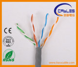 Cable aprobado de la comunicación de UL/Ce/RoHS/ISO UTP Cm/Cmr Cat5e