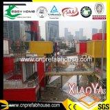 Campo di lavoro prefabbricato della Camera 2014 e della costruzione