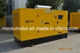 Generador de potencia diesel silencioso de la alta reputación 250kw Weichai