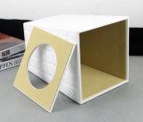 Escaninho Waste de couro elegante, escaninho de lixo do plutônio, escaninho do quarto (PJ-012)