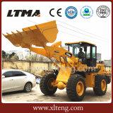 Macchinario di costruzione caricatore della rotella da 3 tonnellate con altezza di dumping di 3400mm