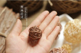 La GY 3-7cm Color Selected Rattan Reed Decorative Balls