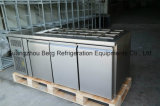 Réfrigérateur commercial d'Undercounter de 3 portes