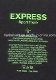Escritura de la etiqueta del traspaso térmico del cuello para el paño