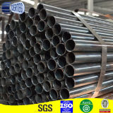 168mm Od X 3mm Gewicht Heiß-gerolltes Black ERW Round Steel Pipe