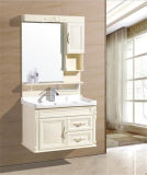 Side Cabinet를 가진 Type 현대 Wall Mounted PVC Bathroom Furniture