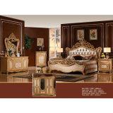 Schlafzimmer-Möbel stellten mit antikem Bett und Garderobe ein (W811B)