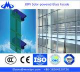 건축 유리를 위한 빛 그리고 투명한 태양 전지판