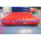 PVC Water Inflatable Sponge Track/Inflatable Air Cushion for Water Park